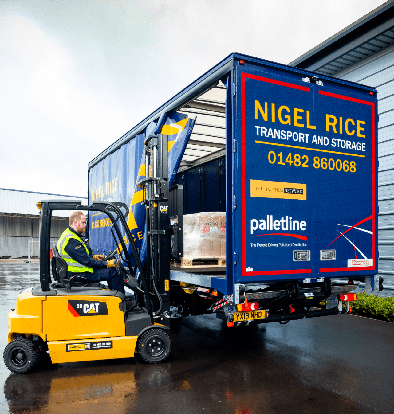 haulage hull, transport and distribution hull, pallet delivery hull